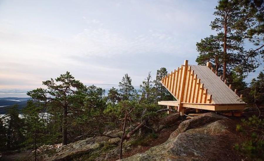 Vindskydd med arkitektoniskt hög kvalité finns på ritbordet. Foto och arkitekt: ArkNat, Sweco