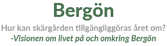 Bergön i S:t Anna Skärgård